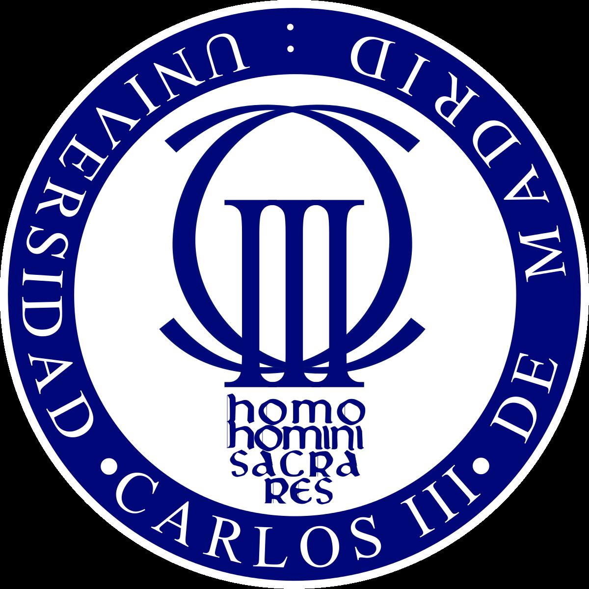 UNIVERSIDAD CARLOS III LOGO